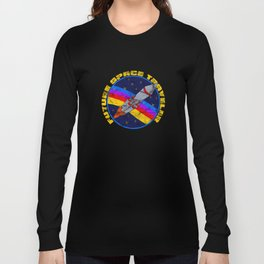 Future Space Traveler Funny Occupy Mars Exploration Long Sleeve T-shirt
