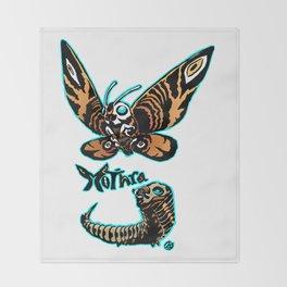 Mothra Kaiju Print FC Throw Blanket