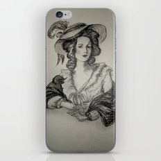 French Sketch IV iPhone & iPod Skin