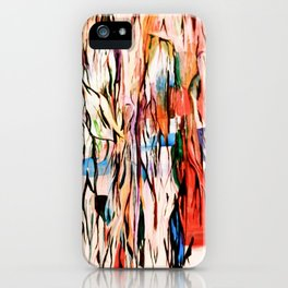 Veins turn into roots iPhone Case