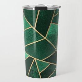 Emerald and Copper Travel Mug
