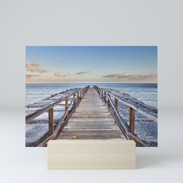 To The Beach... Canary Islands Mini Art Print