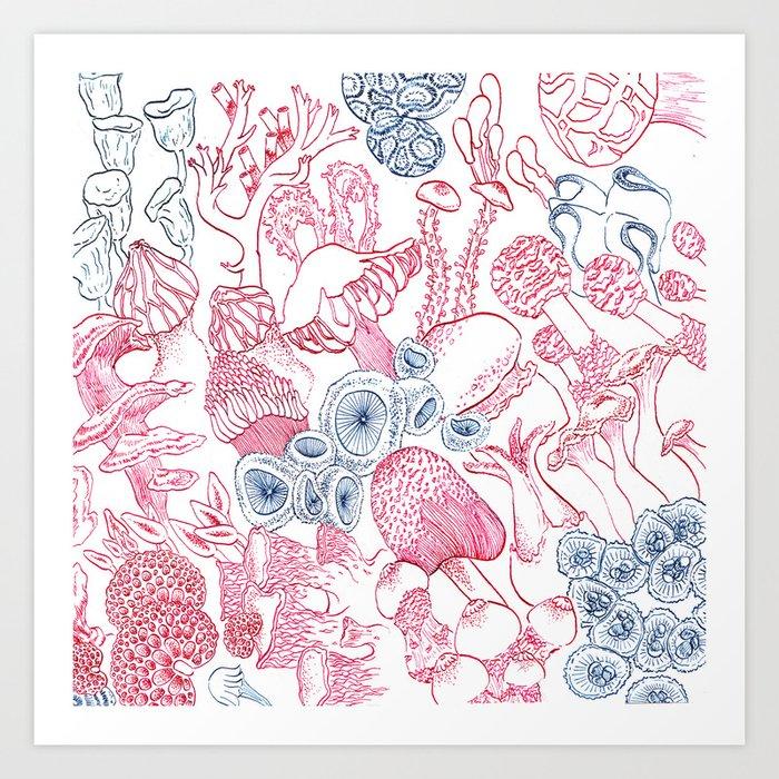 Mycology 3 Art Print