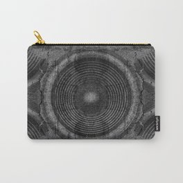 Black and white music speakers Carry-All Pouch