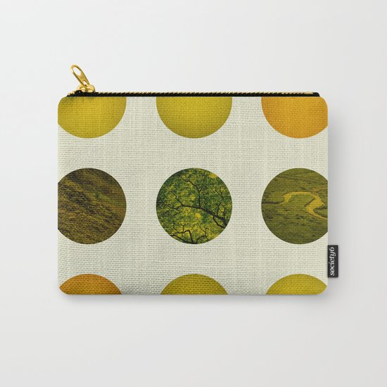 Earth Dot Pattern Carry-All Pouch