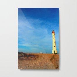 California Lighthouse - Aruba Metal Print