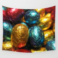 easter Wall Tapestries featuring Easter by habish