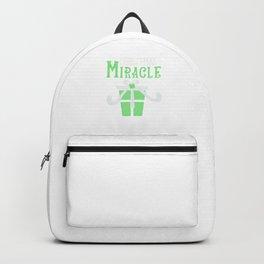 Christmas Miracle Merry Xmas Gift Backpack