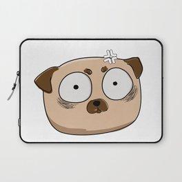 scared pug Laptop Sleeve