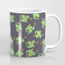 Cute + ferocious dragon pattern Coffee Mug