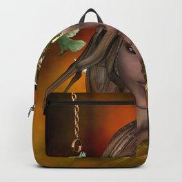 Beautiful fantasy women Backpack