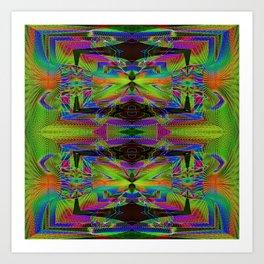 The Clamp Art Print