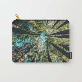 Treetop green blue Carry-All Pouch