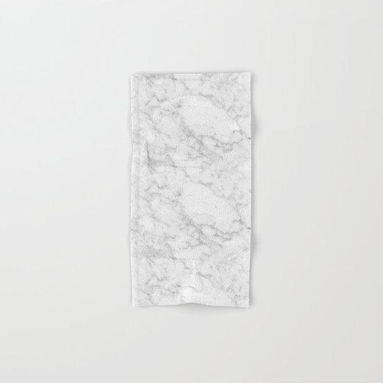 White Marble Edition 2 Hand & Bath Towel