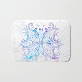 Butterfly Abstract G540 Bath Mat