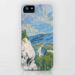 Glacier Gorge iPhone Case