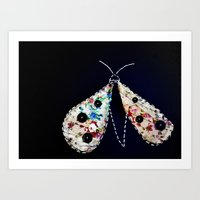 Dotty Moth Lost Art Print