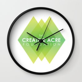 Creative Acre Foundation (CAF) Support Wall Clock