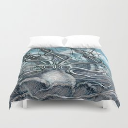 Sea Monster Duvet Cover