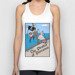 Pirates of Penzance Poster Unisex Tank Top