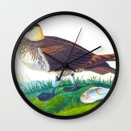 'Jager' by John James Audubon Wall Clock