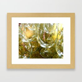 Clink Framed Art Print