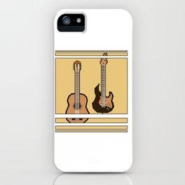 double guitar iPhone Case
