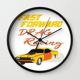 Racing Car Wall Clocks | Society6
