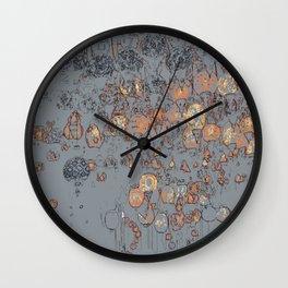 Bazaar Lights Wall Clock