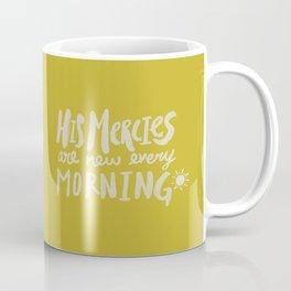 Mercy Morning x Mustard Coffee Mug