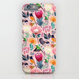 Sunbirds and Proteas iPhone Case