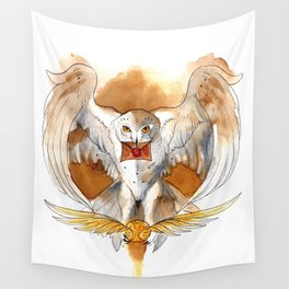 Potter Hedwig Owl Wall Tapestry