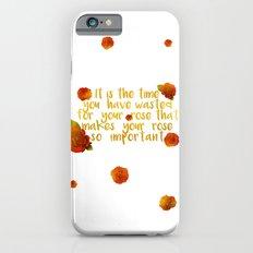 rose #2 iPhone 6s Slim Case
