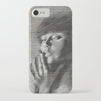 annie hall iPhone & iPod Cases featuring Annie by Mike Lee
