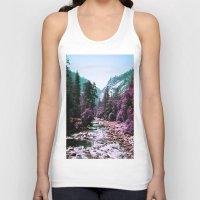 yosemite Tank Tops featuring Yosemite Purple by Richard PJ Lambert
