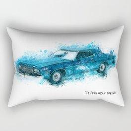 76 FORD Gran Torino Rectangular Pillow