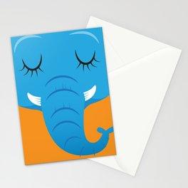 Sleepy Elephant Stationery Cards