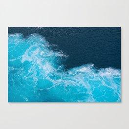 Magical sea Canvas Print