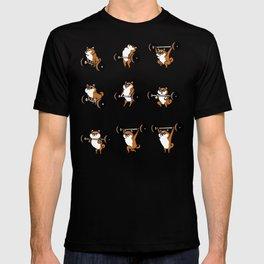 OLYMPIC LIFTING Shiba Inu T-shirt
