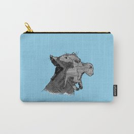 Newspaper Lions Carry-All Pouch