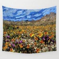 arizona Wall Tapestries featuring Arizona Desert by Paul Kimble
