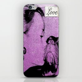Rescue love iPhone Skin