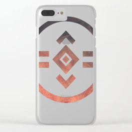 porter robinson & madeon shelter Clear iPhone Case