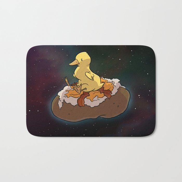 Space Duck Bath Mat