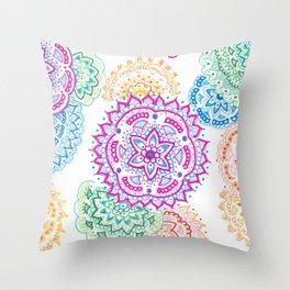 Multi Manda Throw Pillow