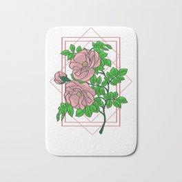 Rose Gold Aesthetic Bath Mat