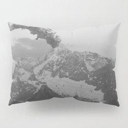 Volcano black and white Pillow Sham