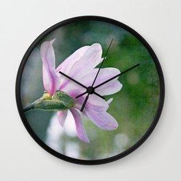 Ballerina Magnolia Wall Clock