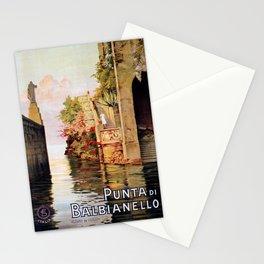 1920 Romantic Lenno Lake Como Stationery Cards