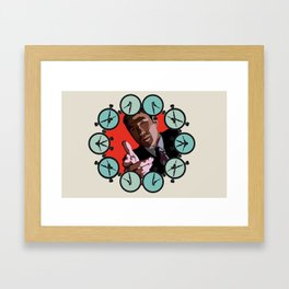 Bang! Framed Art Print